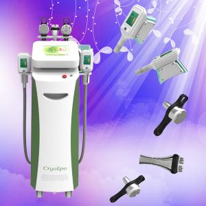 China Cryolipolysis Slimming Machine / Advanded Fat Freeze Cryolipolysis Cavitation RF System on sale