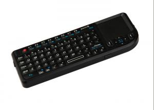 China PC ABS Air Keyboard Mouse Wireless 2.4Ghz With Touch-pad For Tablets on sale