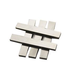 China K10 K20 K40 Carbide Flat Bar HIP Sintered Technology For Metal Cutting on sale