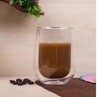 High Quality 200ml Wholesale Europe Style Double Wall Glass Coffee Cup Mug Tea Cup Glassware