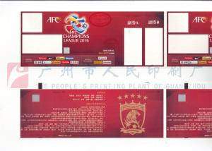China Custom Size Event Ticket Printing Services , Barcode Admission Ticket Printing on sale