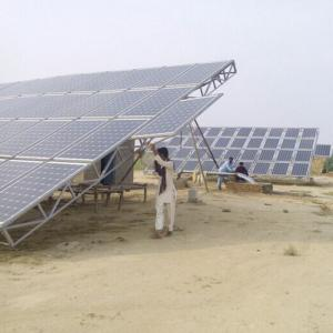 China 25HP/18.5kW Solar Pumping System DC-AC Triple Phase For Irrigation In Pakistan on sale