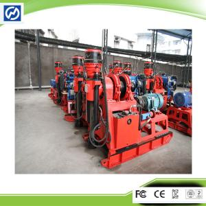 China Small and Light Weighted Hydraulic Feed Mobile Drilling Rig on sale