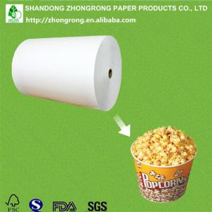 China PE coated ivory board for popcorn box on sale