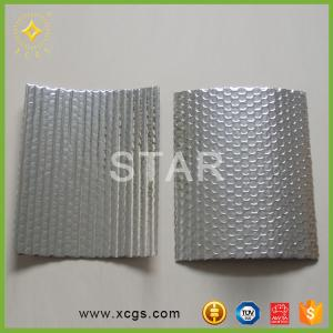 China Double Sided Reflective Aluminum Foil Bubble Insulation Building New Material on sale