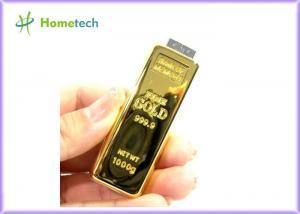 China Creative design Gold Bar USB Flash Drive Memory disk 2GB / 4GB / 8GB / 16GB / 32GB on sale