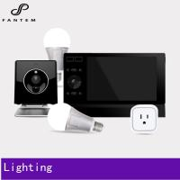 Z wave lighting controlled kit - smart home system with home automation gateway