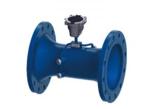 China Transit Time Type Ultrasonic Water Meter Agricultural With Built In Controller on sale