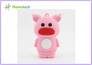 China Laptop 5200mah Lipstick Power Bank , PVC Cartoon Cattle External Battery Pack on sale
