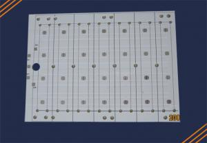 China White Color High Power LED Street Light PCB 1 Oz Copper Thickness 94VO With OSP Finish on sale