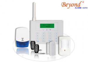 China GSM &PSTN LCD Screen Display Touch Keypad Wireless 433mhz Home Alarm System on sale
