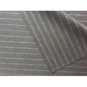 China Multi Function Striped Felt Fabric , Hand Dyed Felted Wool Fabric on sale