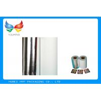 Non Toxic Vacuum Metallized Paper , Ink Retention Lamination Paper Roll