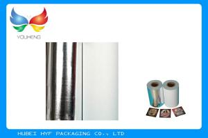 China Non Toxic Vacuum Metallized Paper , Ink Retention Lamination Paper Roll on sale