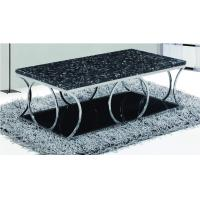marble top/ stainless steel legs tea table A565