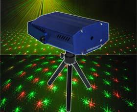 China Mini 100mW RGY Auto Tracking Twinkling Laser L60RGY on sale