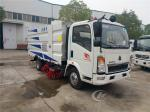 City Cleaning Machine Road Sweeper Truck Howo 4 X 2 115HP 5CBM Vacuum Type