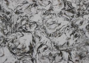 China Ice Flower Engineered Granite Countertops / Kitchen Island Countertop Free Sample on sale