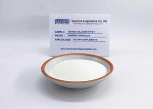 China Raw Material Bovine Type ii Collagen Powder 100% Soluble In Water on sale