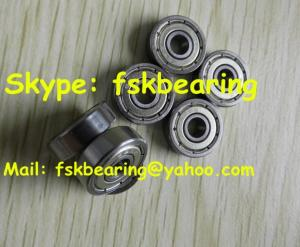China ABEC-5 Small Pin Deep Groove Ball Bearing Chrome Steel Single Row 625 / 626 / 627 on sale
