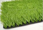 Realistic Looking Artificial Grass Football / Synthetic Soccer Grass High Durability