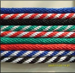 China nylon solid braided rope /dock line/colorful nylon double braided rope 6mm/nylon solid braided dock line rope for ship on sale