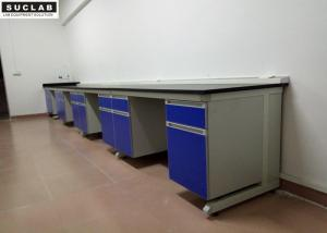 China C Frame Structure Modular Lab Benches , Science Laboratory Furniture In Testing Center on sale