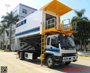 China ISUZU Aircraft High Loader Catering Truck cell:8615271357675 on sale