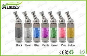 China Stainless Steel Dual Coil E-Cigarette Atomizers / Replaceable Clearomizer CE FCC on sale