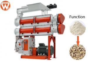 China Livestock Farm Feed Mill Pellet Machine / 10T/H 110Kw Animal Feed Processing Machine on sale