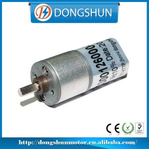 China DS-16RS030 16mm mini 12v dc gear motor on sale