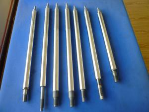 China CK45 ,  42CrMo4 High Precision Piston Rod With Induction Hardened Or Chrome Plated on sale