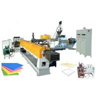 automatic xps insulation panels making machine with twin screw