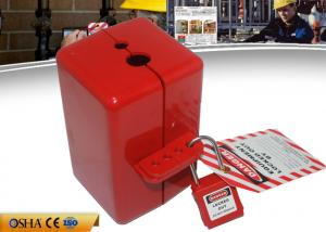 China ZC-D31 Polystyrene Electrical Plug Lockout , 110V / 220V / 550V Plug Lock on sale