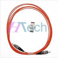 Simplex FC/FC Fiber Optic Jumper, PVC/LSZH Outer Jacket,Orange Color