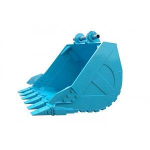 China PC200 Standard Caterpillar Excavator Buckets Size 0.9m3 Large Stowing Surface on sale