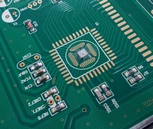 China FR4 Material PCB LED Clock Light Assembly Board With Lead free HASL Finishing on sale