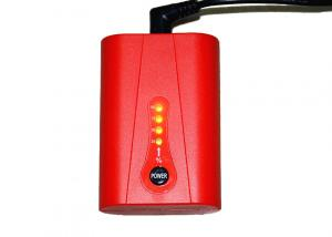 China Red Warm Heated Vest Battery 7.4V 2600mAh With 500 Cycles Life Time on sale