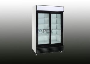 China Sliding glass door refrigerator 800L / POP upright bottle cooler on sale