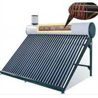 Pre-heating Low Pressure Solar Water Heater 250L With Copper Coil Inner Tank