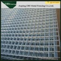 China Galvanized / Powder Coated Wire Mesh Fence Gate No Climb For Protective on sale