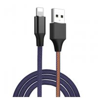 Jeans Fabric Fast Charge Type C Data Cable USB 3.1 Packaging Customized