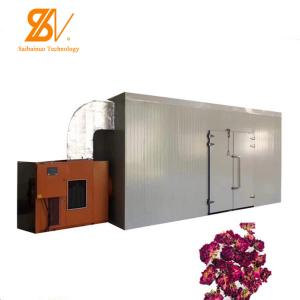 China Heat Pump Industrial Hot Air Dryer Plum Cherry Pumpkin Flower Leaf Meat Dehydration on sale