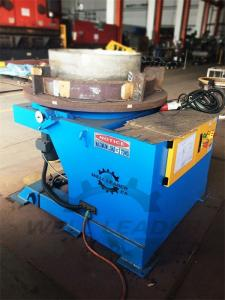 China 2000 Kg Carring Rotary Welding Positioner 1100mm Table Slotted 300mm Gravity on sale
