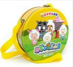 China Metal Lunch box for DVD pack wholesale