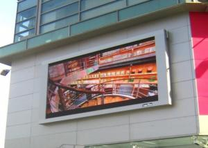 China High Definition P10 Full Color Led Display Outdoor Digital Billboard Signs V120 / H120 on sale