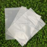 white customizable PLA 100% Biodegradable Corn Starch Compostable Ziplock Bag