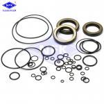 Excavator HITACHHI ZX200 ZX200-3 Hydraulic Cylinder Seal Kits NBR TPFE IRON Material