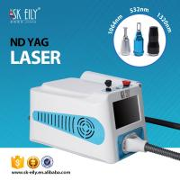 Portable Full form of  ND YAG laser for tattoo removal/freckle  removal/Nevus removal