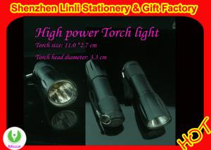 China Supply Eco-Friendly aluminium high powerful led torches flashlight OEM on sale
